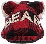 Dearfoams Unisex Slipper, Lil Bear Buffalo