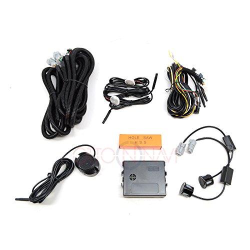 Ottonavi Universal Rear Blind Spot Sensor Monitor Interior Detection Warning System Indicator Assist Safety