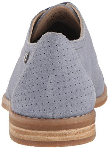 Hush Perf Puppies Blue Womens Powder Clever Suede Aiden Oxford 16U1qSrw