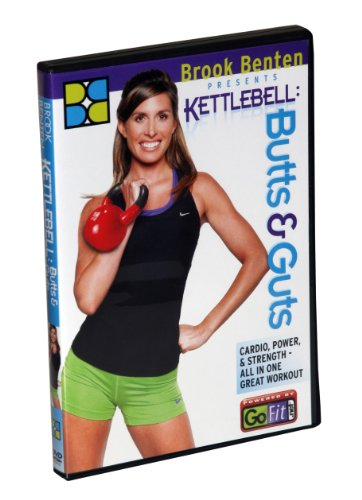 GoFit Brook Benton Butts & Guts Kettlebell Workout DVD