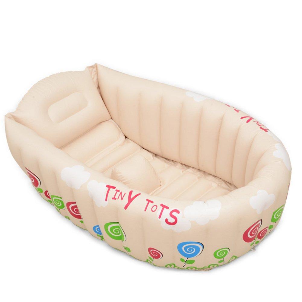 Aufblasbare Babywanne/Babywanne/Neue große Kinderbecken/Dick sitzen Pool Eimer-C