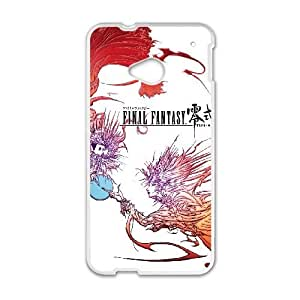 HTC One M7 Phone Case Cover White Final Fantasy Type 0 EUA15992119 Durable Hard Cell Phone Case