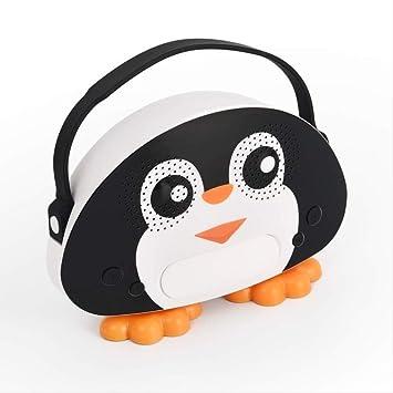 Rrym Micrófonos Altavoz Bluetooth Caja Bird Animal Kids