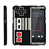 MINITURTLE Case Compatible w/ [HTC Desire 530 Slim Case, Desire 630 Case, 530 Case][Snap Shell] Hard Plastic Slim Fitted Snap on case w/ Unique Designs Game Controller