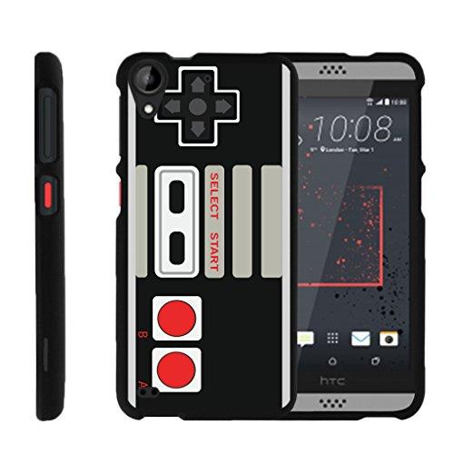 MINITURTLE Case Compatible w/ [HTC Desire 530 Slim Case, Desire 630 Case, 530 Case][Snap Shell] Hard Plastic Slim Fitted Snap on case w/ Unique Designs Game Controller