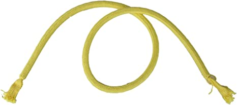 Yellow Stiff Rope Comedy Kids Magic Effect Limp to Stiff Rope in Seconds