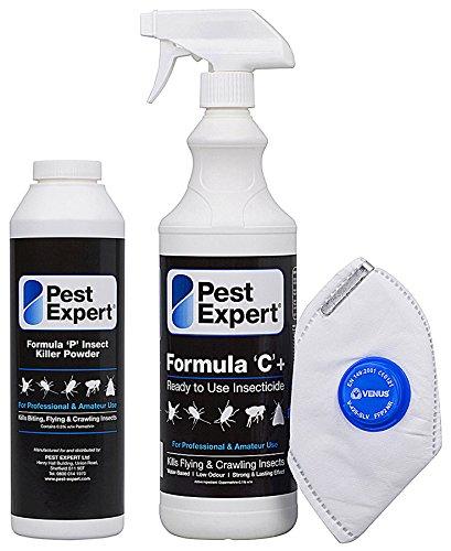 pest expert formula u0027cu0027 bed bug killer spray 1ltr and formula u0027pu0027