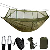 """Package includes:2pcs buckles, 2pcs 6.6ft lashing Ropes, 2pcs Mosquito Net ropes, 1pcs Carry bag. Color:Army Green. Sleep 2 Person.   --Important Notice, Please Read---   Other seller is selling fake """"douper"""" by low price, we are the """"douper"""" brand o..."""