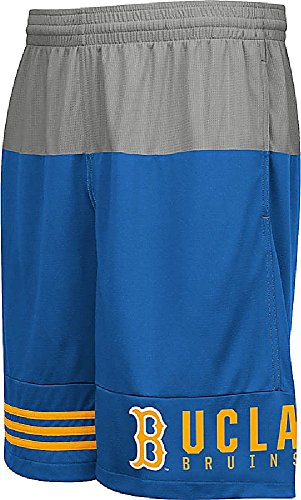 adidas UCLA Bruins Mens Core Campus Synthetic Shorts by (XXL=38-39)