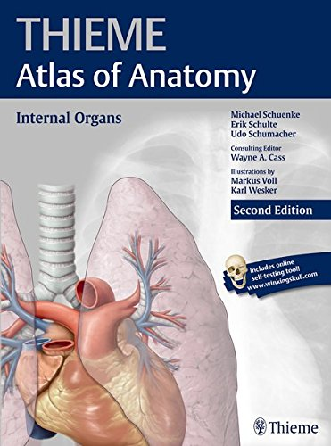 Atlas of Anatomy, 2e, 3-Volume Set: Internal Organs (THIEME Atlas of Anatomy)