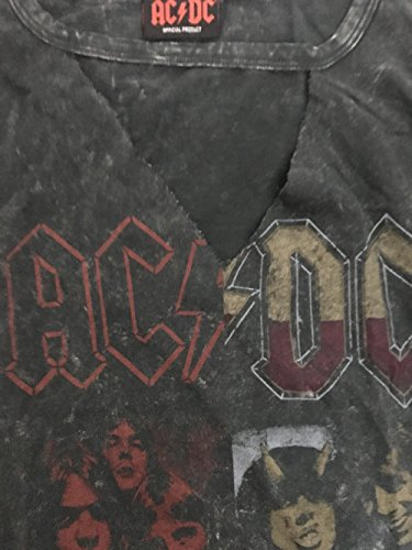 AC/DC - Sdrucito & STRAPPATO Logo - T-Shirt Ufficiale Donna