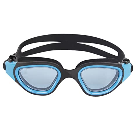 f9a644d4053 Buy Outgeek Adults Swim Goggles Waterproof Goggles No-Leaking Anti-Fog Uv  Protection Swimming Glasses for Unisex One Size Black+Blue Online at Low  Prices in ...