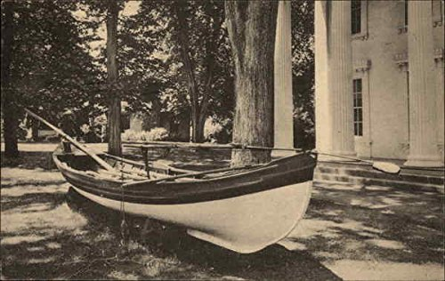 Whaling Boat (Whale Boat, Historical and Whaling Museum Sag Harbor, New York Original Vintage Postcard)
