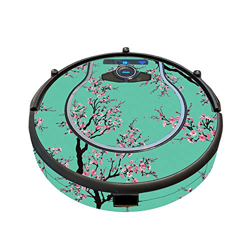 MightySkins Skin Compatible with Shark Ion Robot 750 Vacuum Minimal Coverage - Cherry Blossom Tree   Protective, Durable, and Unique Vinyl Decal wrap Cover   Easy to Apply, Remove   Made in The USA