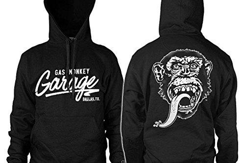 Grease Monkey Garage >> Gas Monkey Garage Officially Licensed Merchandise Hoodie At Amazon