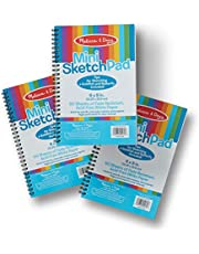 Melissa & Doug Mini-Sketch Pad Bundle 3 Pack