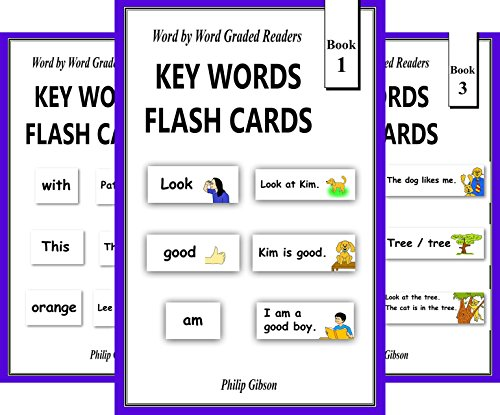 KEY WORDS FLASH CARDS (10 Book Series)