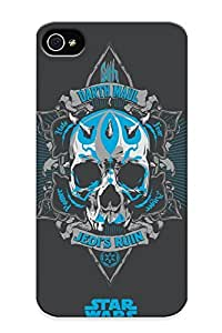 Mooseynmv Design High Quality Star Wars Skull Darth Maul Cover Case With Excellent Style For Iphone 4/4s