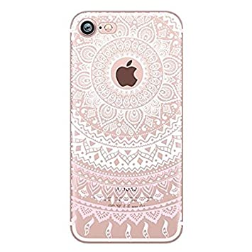 coque iphone 5 transparente rose