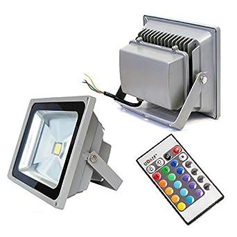 Buy glitz 20w rgb led flood light outdoor ip65 online at low glitz 20w rgb led flood light outdoor ip65 mozeypictures Choice Image