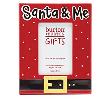 santa and me christmas 4x6 photo frame