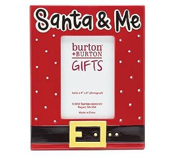 santa and me christmas 4x6 photo frame