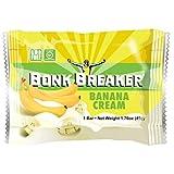 Bonk Breaker Energy Bar, Banana Cream, 1.76 Oz (12 Count), Gluten Free & Dairy Free