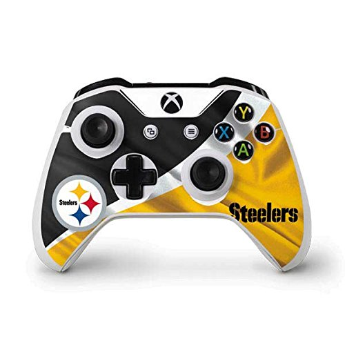 Price comparison product image NFL Pittsburgh Steelers Xbox One S Controller Skin - Pittsburgh Steelers Vinyl Decal Skin For Your Xbox One S Controller