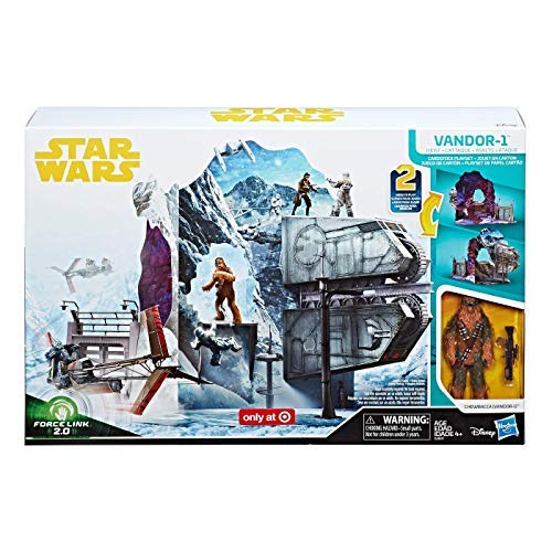 Star Wars Solo Force Link 2.0 Vandor-1 Heist Exclusive Playset with Chewbacca