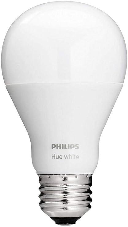 06030d73ad5 Philips Hue White A19 Single LED Bulb Works with Amazon Alexa (Hue Hub  Required) - - Amazon.com