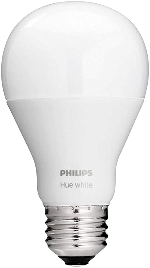 Philips Hue White A19 Single Led Bulb Works With Amazon Alexa Hue