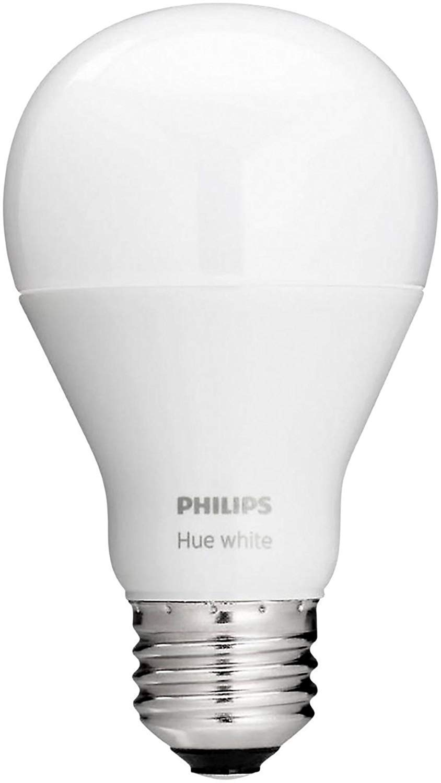 Philips Hue White A19 Single LED Bulb Works with Amazon Alexa (Hue Hub Required)