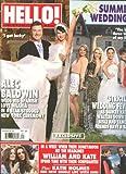 Hello Magazine # 1235 (Alec Baldwin Wedding) (July 23,2012)