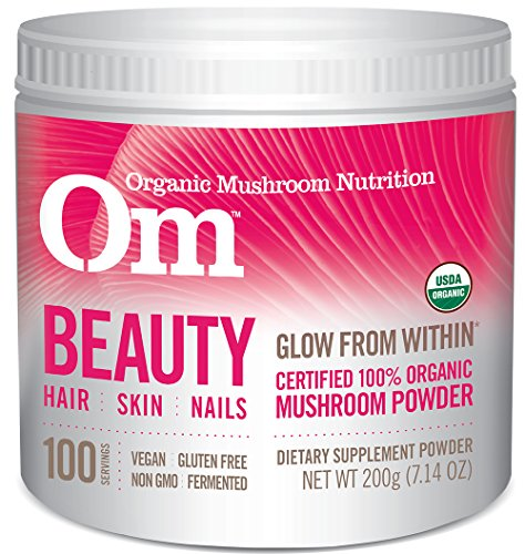 Om Organic Mushroom Supplement, Beauty, 200 grams
