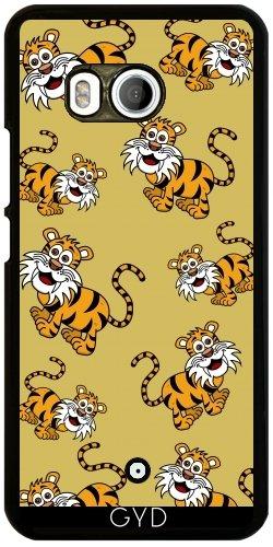 Funda para Htc U11 - Un Tigre Sonriente by zorg