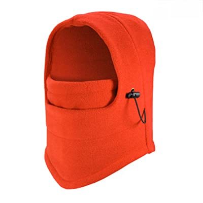 77ab999a861 Opromo Kids   Adult Winter Fleece Balaclava Hood Snood Ski Face Mask  Cycling Hat
