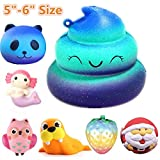 Jumbo Slow Rising Squishies Charms Kawaii Squishies Cream Scented Toys For Kids and Adults