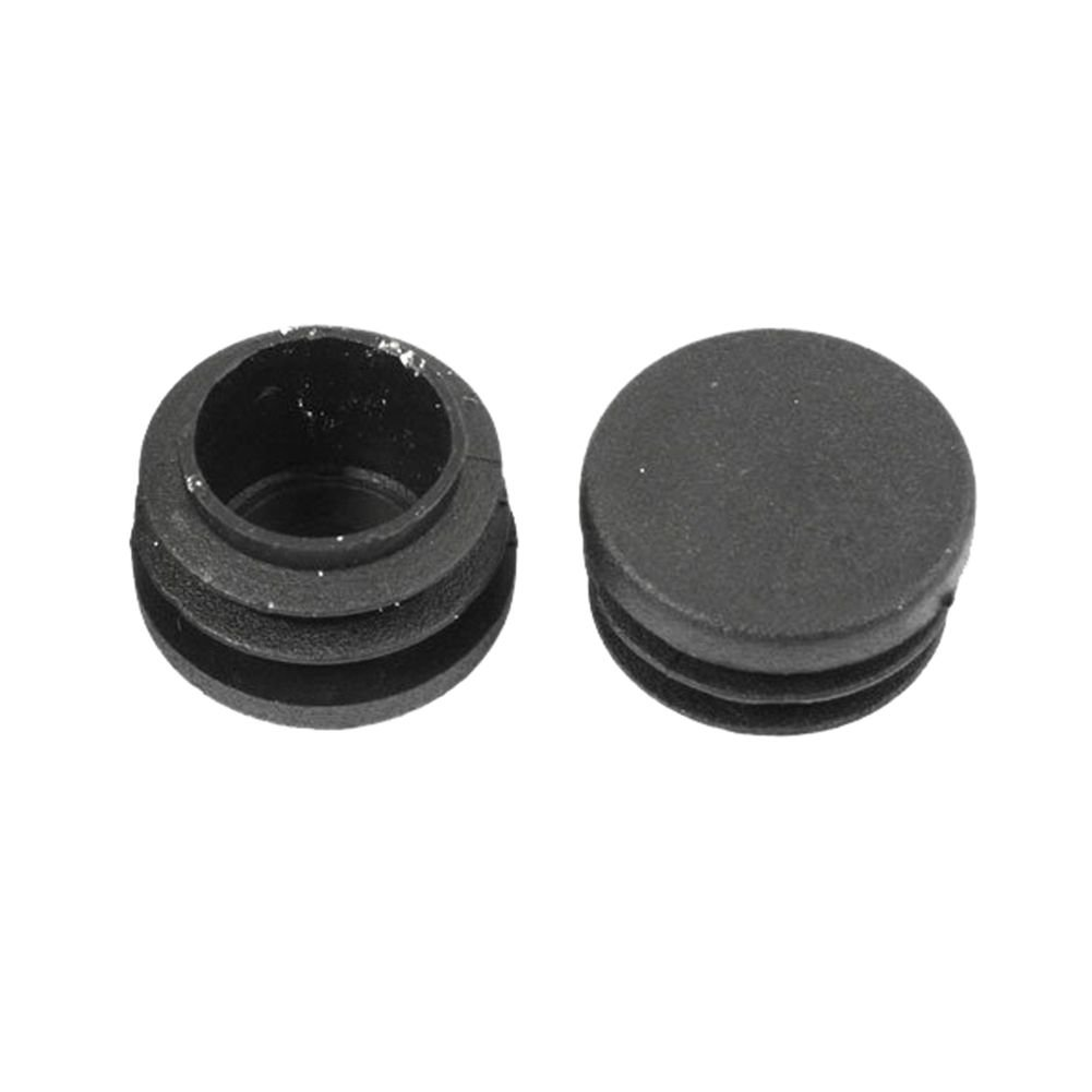SODIAL(R) 28mm Dia Round Plastic Blanking End Cap Pipe Tubing Tube Insert 12 Pcs by SODIAL(R) (Image #3)