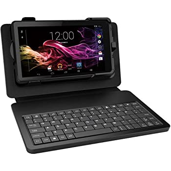 """RCA Voyager II Tablet 8GB Quad Core Android 5.0, Black, 7"""""""