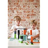 22 Piece Tegu Endeavor Magnetic Wooden Block Set, Nelson