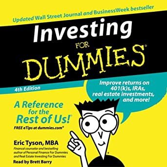 Amazon com: Investing for Dummies, Fourth Edition (Audible