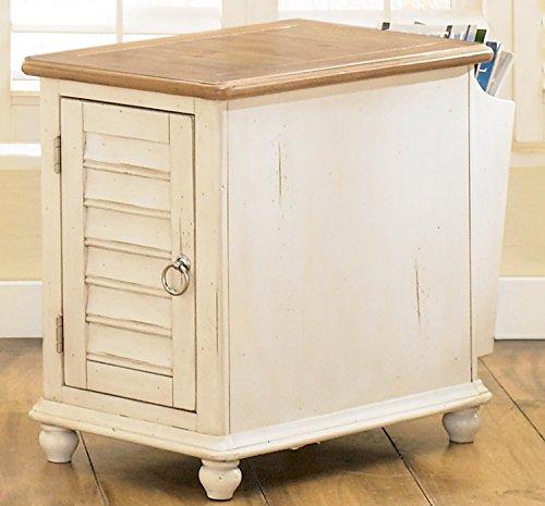 Hutch Bedroom Pine (Liberty Furniture Industries 303-OT1021 Ocean Isle Chair Side Table 16