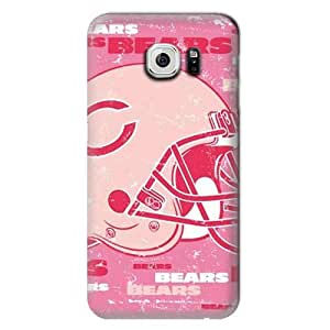S6 Edge Case, NFL - Chicago Bears - Blast Pink - Samsung Galaxy S6 Edge Case - High Quality PC Case