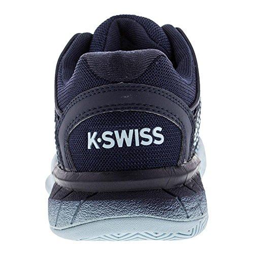 K-swiss Mens Hypercourt Esprimere Iris Nero / Bagliore Blu