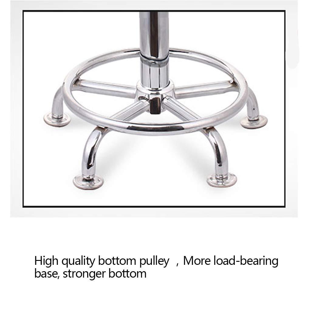 Amazon.de: Unbekannt Küchen-Bar-Schemel-Stuhl mit Stahl, Runder ...