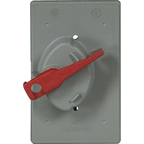Cooper Wiring Devices Eagle- GRAY Weather Prtective Covers for Toggle Switch - Eagle Electric Cooper Wiring