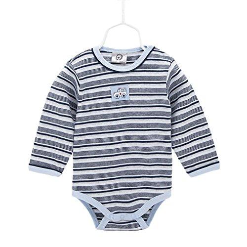 Joker Suit Shirt (Long Sleeve Onesie Bodysuit For Infant Baby Boy Girl, Cotton Stripe And Car Onesies Bodysuits)