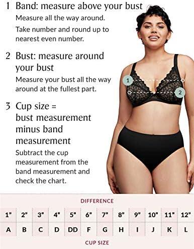 Glamorise Women's Plus Size Full Figure High Impact Cami Wonderwire Sports Bra #9160 6