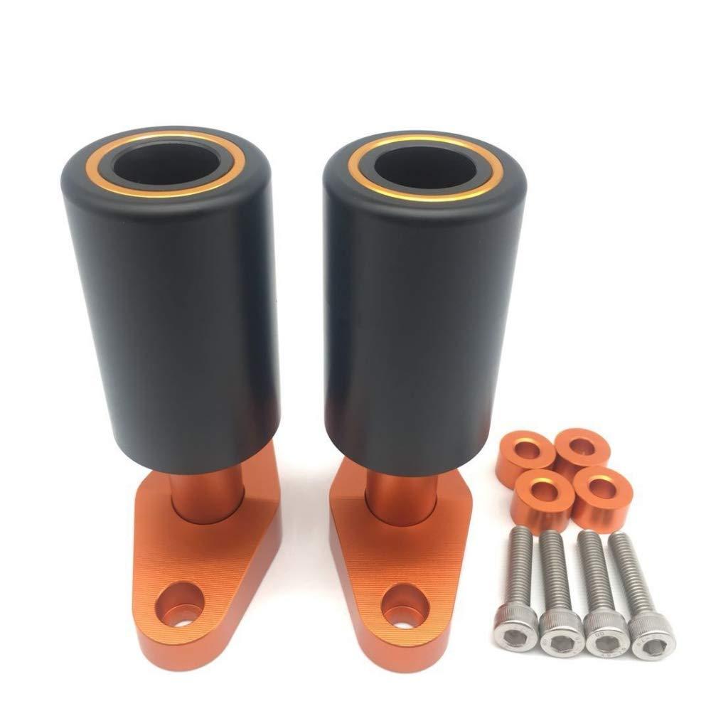 MADRACING DUKE 125//200//250//390 Frame Sliders Crash Protector Black