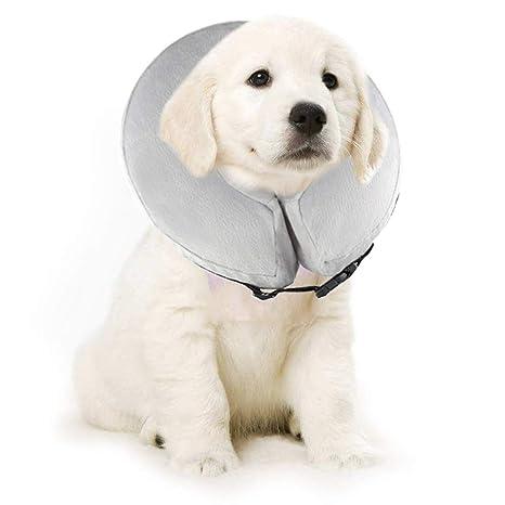 BVAGSS Collar Inflable de Recuperación Cuello Protector Suave para ...